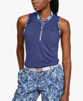 Women's UA Zinger Zip Sleeveless Polo